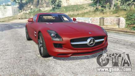 Mercedes-Benz SLS 63 AMG (C197) v1.3 [replace] for GTA 5