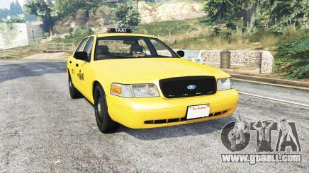 Ford Crown Victoria NYC Taxi [replace] for GTA 5
