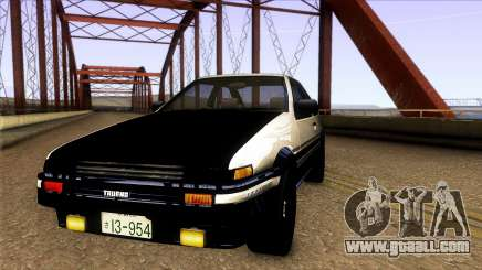 Toyota Corolla AE86 Spinter Trueno GT-Apex 1986 for GTA San Andreas