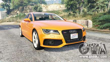 Audi RS 7 Sportback v1.1 [replace] for GTA 5