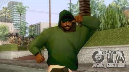 New Groove Street Skin 5 for GTA San Andreas