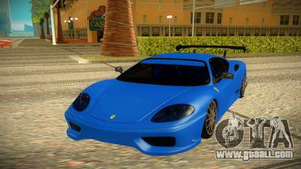 Ferrari 360 for GTA San Andreas