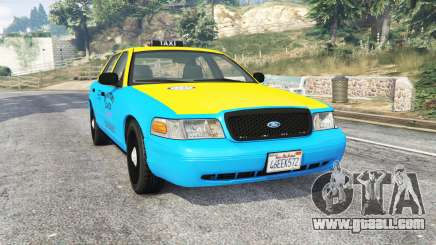 Ford Crown Victoria 2008 Taxi v1.2b [replace] for GTA 5