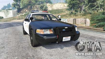 Ford Crown Victoria LSSD [ELS] [replace] for GTA 5