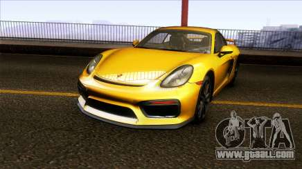 Porsche Cayman GT4 981C 2016 for GTA San Andreas