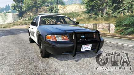 Ford Crown Victoria LSPD [replace] for GTA 5