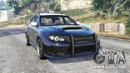 Subaru Impreza WRX STi LAPD v1.1 [replace] for GTA 5