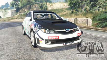 Subaru Impreza WRX STI Nakazato v1.2 [replace] for GTA 5