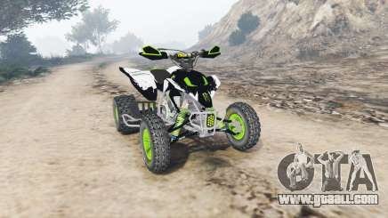 Yamaha YFZ450 Monster Energy v1.1 [replace] for GTA 5