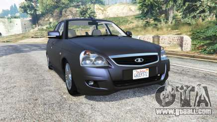 LADA Priora (2170) tuned v2.2 [replace] for GTA 5