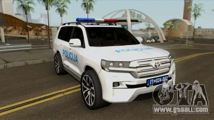 Toyota Land Cruiser 200 Interventna Jedinica 92 for GTA San Andreas