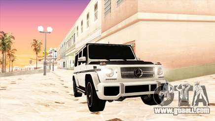 Mercedes-Benz G65 AMG 2013 IVF for GTA San Andreas
