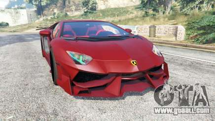 Lamborghini Aventador LP988-4 v3.1 [replace] for GTA 5