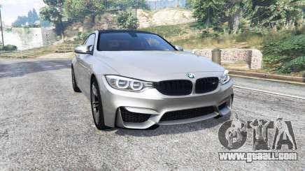 BMW M4 (F82) 2015 [replace] for GTA 5