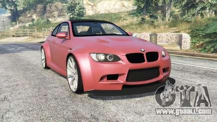 BMW M3 (E92) WideBody v1.2 [replace] for GTA 5