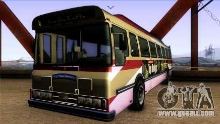 GTA IV Brute Bus for GTA San Andreas