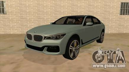 BMW 750d for GTA San Andreas