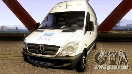 Mercedes-Benz Sprinter 311CDi - TVP for GTA San Andreas