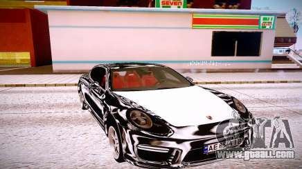 Porsche Panamera GTS 2012 for GTA San Andreas