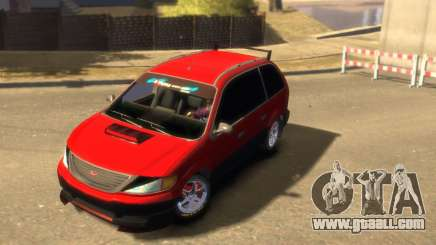 Vapid Minivan for GTA 4