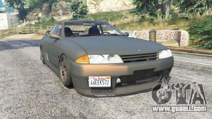 Nissan Skyline GT-R (BNR32) v0.5 [replace] for GTA 5