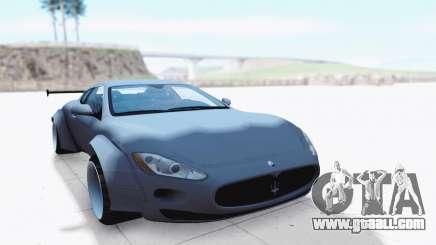 Maserati GranTurismo for GTA San Andreas