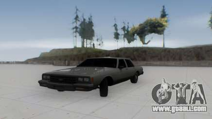 Chevrolet Impala 1984 for GTA San Andreas