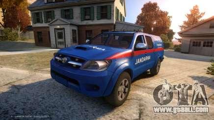 Toyota Hilux Jandarma Olay Yeri Inceleme for GTA 4