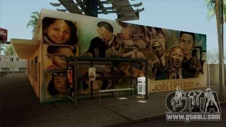 Felons Gang Environment and Graffiti for GTA San Andreas