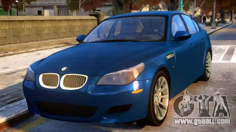 2005 BMW M5 for GTA 4