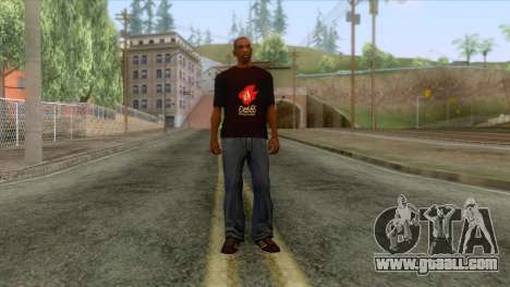 Wasthi T-Shirt for GTA San Andreas third screenshot