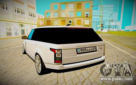 Land Rover Range Rover Sport for GTA San Andreas