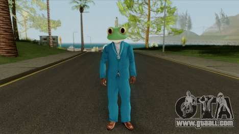 Toad Frog Mask From The Sims 3 for GTA San Andreas second screenshot