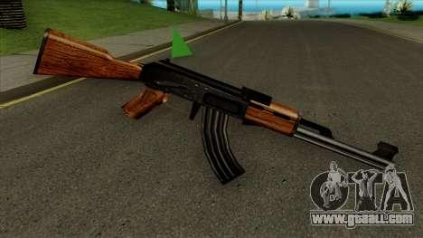 АК-47 Default HQ for GTA San Andreas