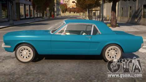 1965 Ford Mustang for GTA 4