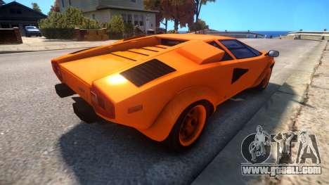 Lamborghini Countach LP400 S 1978 v1.0 for GTA 4