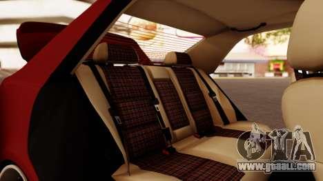 Toyota Altezza for GTA San Andreas upper view
