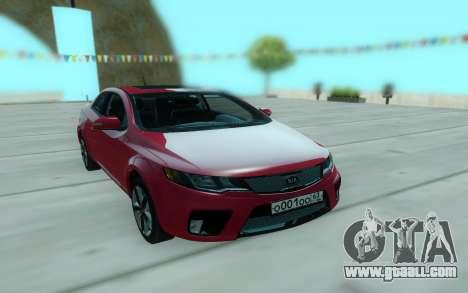 Kia Forte for GTA San Andreas