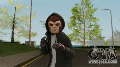 Space Monkey Street Artist From GTA V for GTA San Andreas