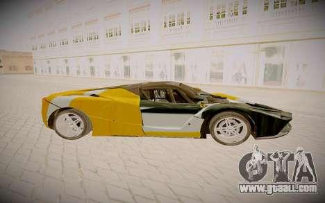 Ferrari LaFerrari for GTA San Andreas