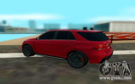 Mercedes Benz GLE 63 for GTA San Andreas