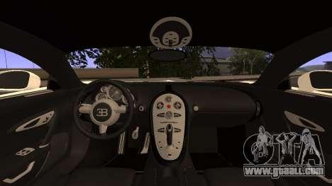 Bugatti Veyron for GTA San Andreas right view