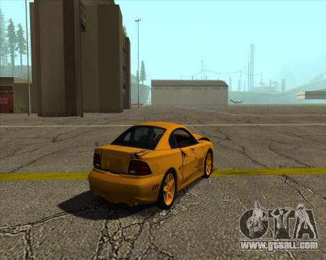Ford Mustang s281 Saleen 1995 for GTA San Andreas