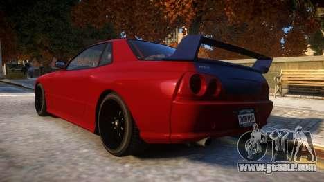 Annis Elegy Retro V1.1 for GTA 4 back left view