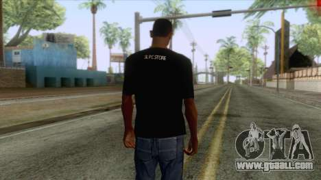 Wasthi T-Shirt for GTA San Andreas second screenshot