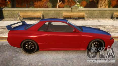Annis Elegy Retro V1.1 for GTA 4 back view