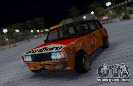 VAZ 2104 Marlboro for GTA San Andreas