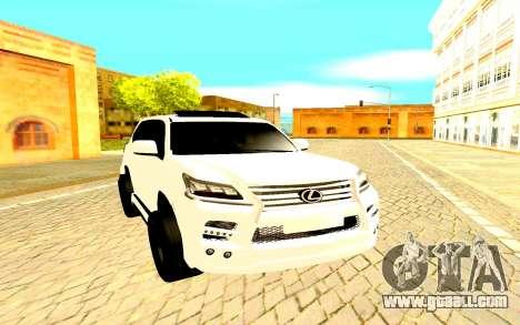 Lexus LX 450D FL Executive for GTA San Andreas