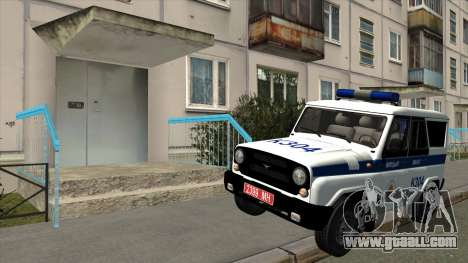 UAZ Police Minsk for GTA San Andreas