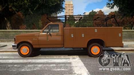 Vapid Sadler Retro Utility Truck for GTA 4